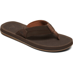 Quiksilver Coastaloasis III Sandals Men brown/brown/brown